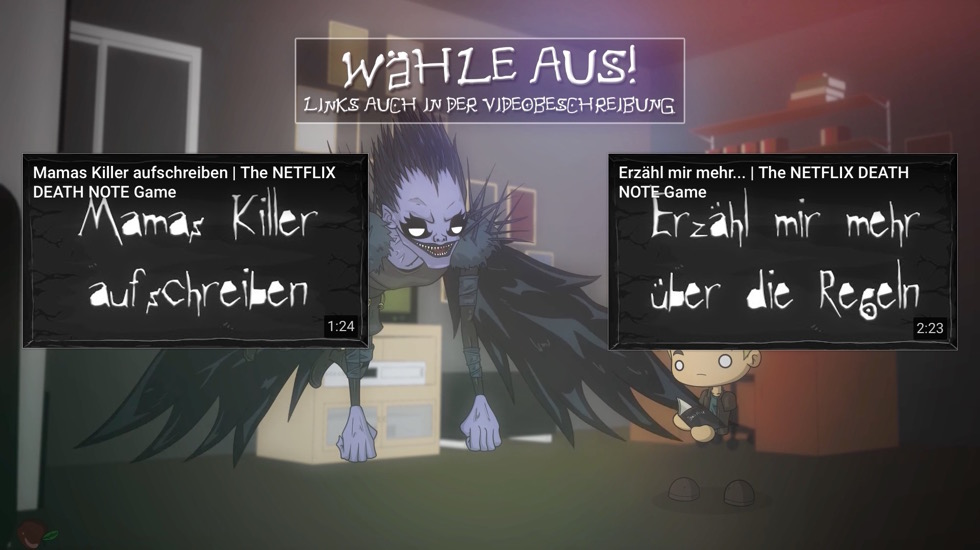 "Choose Your Own ""Death Note"" Adventure with Netflix and YouTube"